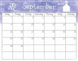 Professional Calendar Template Printable September 2019 Calendar Template September 2019