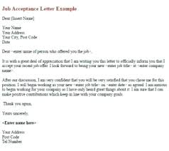 How To Write A Job Offer Acceptance Email Accepting The Offer Letter Email Ijbcr Co