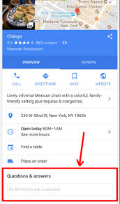 Questions To Ask Business Owners 6 Things You Need To Know About Googles Q A Feature On