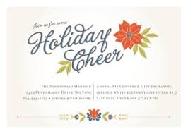 holiday invitations printable retro holiday invitation template