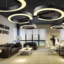 office lighting. Office Lighting LED Modern Pednant Lamp Lantern Study Restaurant Industry Creative White Black C Lamps A