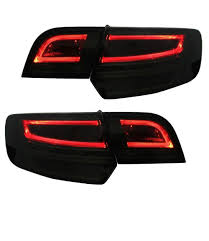 Audi A3 8p Rear Lights Details About Audi A3 8p Sportback 03 08 Led Taillights Rear Lights Black Smoke Fits Rhd Also