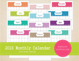 calendars with notes items similar to printable 2016 monthly calendar with notes section