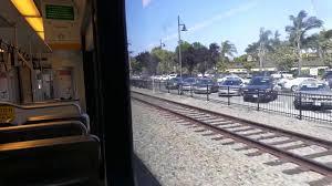 Vta Light Rail Timetable Riding Vta Lightrail Hamilton To Bascom
