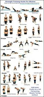 Free Hand Workout Chart Strength Training And Endurance A Beginners Guide