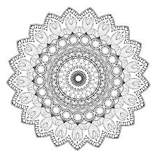Free Mandala Coloring Pages Online Unique Free Mandala Coloring