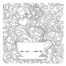 coffee coloring page.  Page Coffee Coloring Pages  Detailed Page Of Mug In E