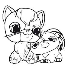 Small Picture pet shop coloring pages printable Series Littlest Pet Shop print