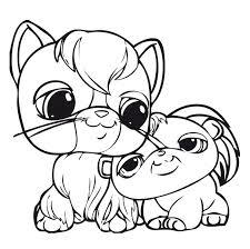 Small Picture pet shop coloring pages printable Series Littlest Pet Shop print