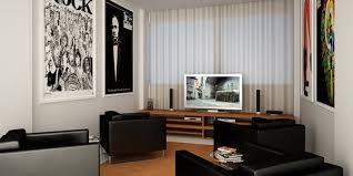 Have wall decors. If your entertainment room ...