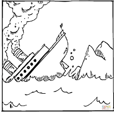 Small Picture Titanic coloring page Free Printable Coloring Pages
