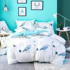 twin size duvet covers scenic pattern birds print twin full queen king size bedding set duvet