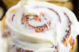 I used a cream cheese icing for these rolls but they can also be eaten without frosting at all cinnamon rolls filled with sweet n tangy caramelized apples and topped with cream cheese icing. Cream Cheese Glaze