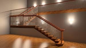 Staircase Side Railing Designs Adding A Railing
