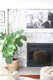 How To White Wash How To Whitewash Stone Diy Fireplace Makeover Coastal
