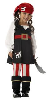 precious lil pirate toddler child costume