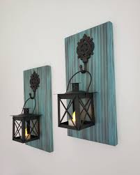 wall lantern sconce wood wall sconce