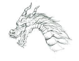 ドラゴンみたいの描いてみたった いなかしろくまくろしかない