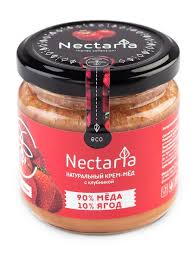 <b>Крем</b>-<b>мед</b> с <b>клубникой</b> 230г <b>Nectaria</b> 8321897 в интернет ...