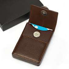 luxury leather business card holder mens business card case top 12 best business card holders for