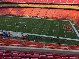 Chiefs Seating Chart With Rows Arrowhead Stadium Section 321 Rateyourseats Com