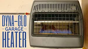 a dyna glo natural gas heater