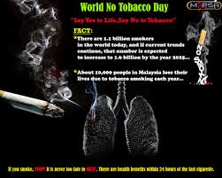 world no tobacco day 2014 n pharmacy students association no comments yet