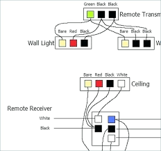 red black and white wires ceiling light ceiling fan capacitor wiring diagram of how to wire