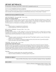 Sample Resume Loan Administrator Job Description Valid Portfolio