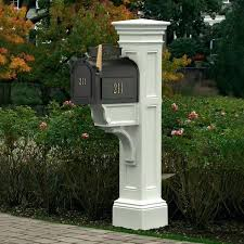 Wooden Mailbox Post Liberty Wood Double Mailbox Post Plans unispaclub