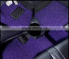 good quality car coil floor mat pvc vinyl loop anti slip car mat roll