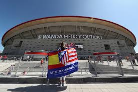 The wanda metropolitano , the new stadium of atletico madrid , is one of the newest and most modern sports venues in the world. Atletico Madrid S Wanda Metropolitano Stadium Named As Venue For 2019 Champions League Sports Chinadaily Com Cn