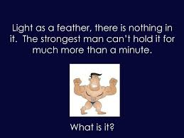 Light As A Feather There Is Nothing In It Year 5 Thinking Skills Ppt Download