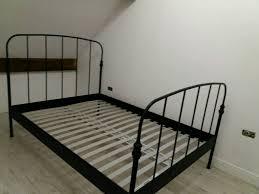 black metal bed frame full. Delighful Full Black Metal Bed Frame Ikea Throughout Metal Bed Frame Full C