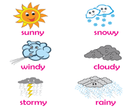 Weather Color Chart Weather Worksheets Science