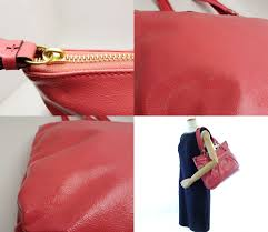 netherlands authentic coach daisy poppy tote bag f20004 patent leather pink 59970 dfb56 3806a