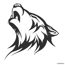 Fotografie Obraz Tribal Tattoo Wolf Designs Posterscz