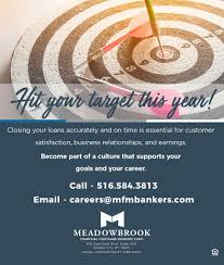 meadowbrook financial mortgage bankers corp linkedin meadowbrook financial mortgage corp is growing and we want you to become part of our team to out more about our careers email us at