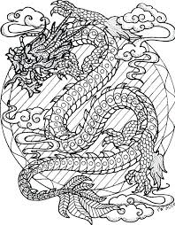 Free Dragon Coloring Pages Dragon Coloring Pages Online 3 Marker