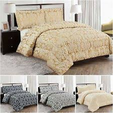 Quilted Bedspread | eBay & Luxurious 3PCS Quilted Jacquard Bedspread Single,Double,King,Superking Size Adamdwight.com