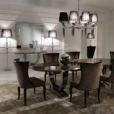 Table Using White Cover Furnished Small Dining Room Tables Black - Black oval dining room table