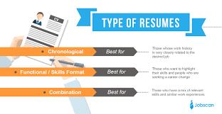 Resume Writing 9 Formats Chart Techtrontechnologies Com