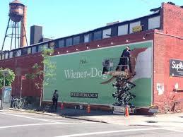 hand painted advertising williamsburg