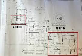 single story house addition plans house plans
