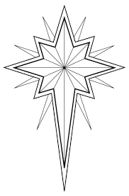 Small Picture Christmas Star Coloring Pages
