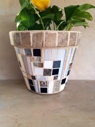 ... home decor diy mosaic planter flower pot centerpieces the art nouveau  bride pots for plant large ...