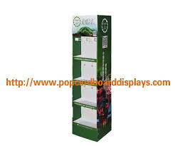 Tea Bag Display Stand Beauteous Free Standing Cardboard Display Stand For Green Tea Lipton Tea Bag