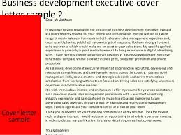 Best Solutions Of Business Development Manager Cover Letter Sample