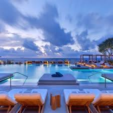 infinity pool united states. 1 Hotel South Beach (Miami, Florida), USA Infinity Pool United States T