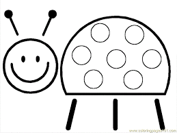 Small Picture Smiling Ladbugs Coloring Page Free ladybugs Coloring Pages